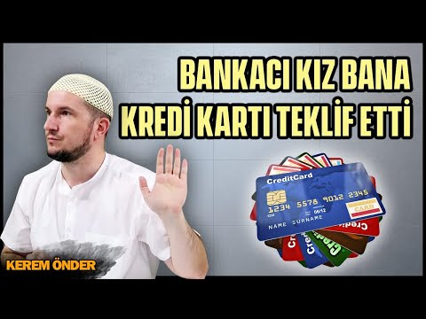 Bankacı kız bana kredi kartı teklif etti Hem de bana Kerem Önder