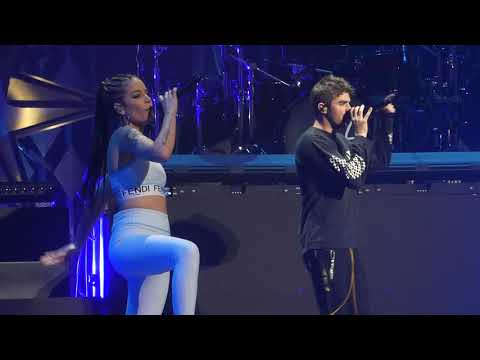 """Closer"" The Chainsmokers & Halsey@Wells Fargo Center Philadelphia 12617 Jingle Ball"