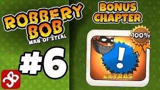 Robbery Bob - Bonus Chapter (EXTRA) Level 1-15 Gameplay Video