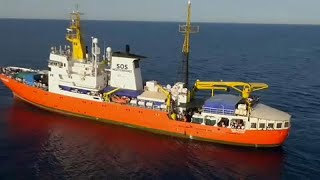 MSF on board Aquarius respond to Panama revoking the rescue ships registration