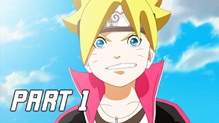 BORUTO'S TALE - Naruto Shippuden Ultimate Ninja Storm 4 Walkthrough Part 1 (Gameplay Commentary)