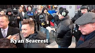 Time Square 12/30/2018 ... Ryan Seacrest