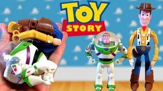NEW Disney Pixar Hatch 'n Heroes TOY STORY BUZZ LIGHTYEAR WOODY SURPRISE Eggs Transforming Toys