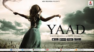 Yaad | Tarun Rishiraj & Priya Andrews | AIDC Records