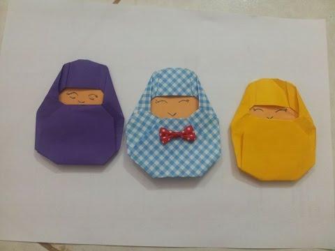 Origami baby Jesus-Jesus son of God-the holy baby jesus