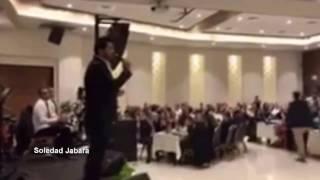 أمير دندن مقطع من حفله غنائيه في فندق أوليفيه الناصره