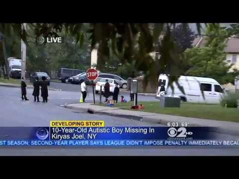 Search Under Way For Missing Special Needs Jewish Brooklyn Boy