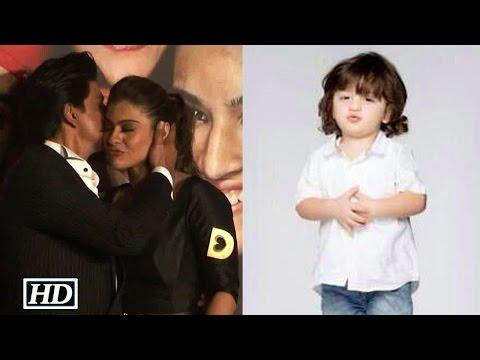 AbRam's Reaction On Dad SRK's Chemistry With Kajol