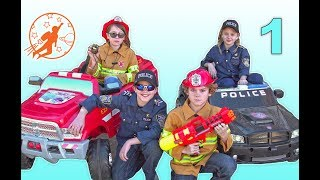Little Heroes Rescue Squad 1 - The Heroes, The Fire Engine and The Police Car