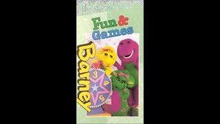 Barney's Fun & Games (2000 Lyrick Studios VHS Rip)