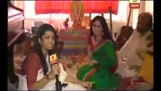 Star Puja: Saraswati Puja at Chaiti Ghosal's residence