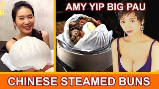 AMY YIP PAU - CHINESE STEAMED BUNS (Eating Show - Mukbang) Peggie Eats S02E09