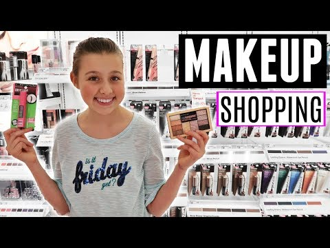 MAKEUP SHOPPING VLOG WITH MY MOM WHAT TO BUY FOR YOUR FIRST TEEN MAKEUP KIT