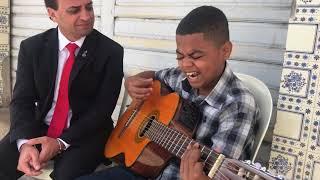 Luan Silva, embora deficiente visual, um verdadeiro adorador!