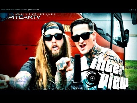 SUICIDE SILENCE Interview w Mitch Lucker and Mark With Full Force 2012