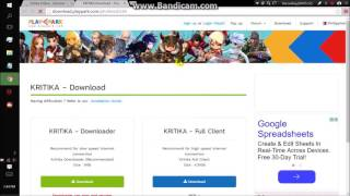 Kookie Guide - How to Download Kritika Online SEA (South-East Asia)