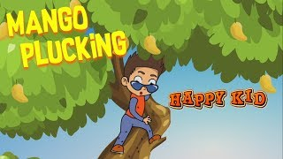 Happy Kid   Mango Plucking   Episode 7   Kochu Tv   Malayalam