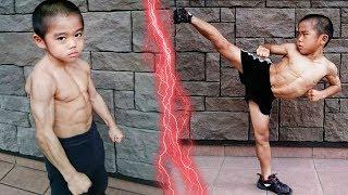 هذا الطفل هو بروسلي القادم.. أقوى طفل في العالم ليس له مثيل !!