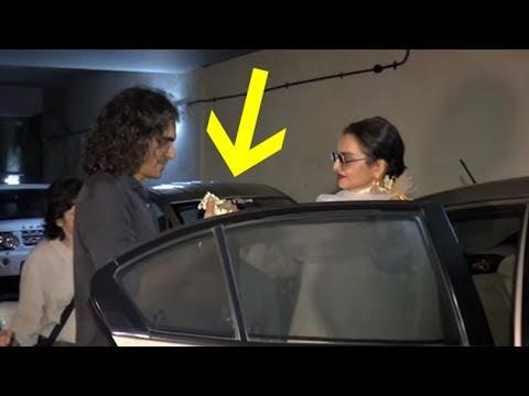 Xxx Mp4 Rekha Gifts Her Gajra To Imtiaz Ali Watch The Video Bollywood Buzz 3gp Sex