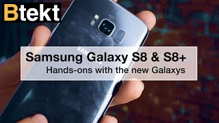Samsung Galaxy S8 and S8+ hands-on