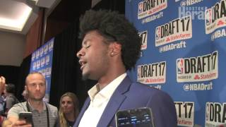 2017 NBA Draft: Josh Jackson explains why he didn't work out for the Celtics