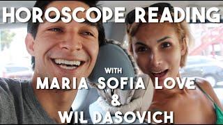 Horoscope reading with Maria Sofia Love (Vlog 10 - Virgo)