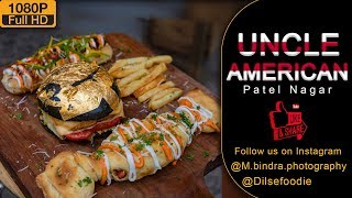 Gold Burger , Toffy Pizza & BBQ Chicken Hotdog In 800Rs At Uncle American