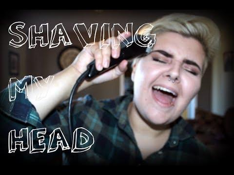 I SHAVED MY HEAD?????