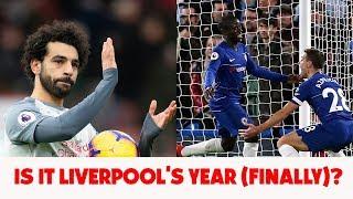 Premier League Review   Chelsea stun Man City   Liverpool go top  