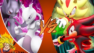 Mewtwo VS Shadow - DEATH BATTLE! REACTION!!!