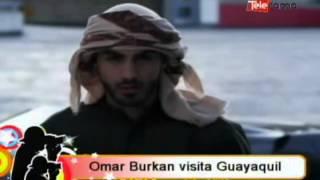Omar Burkan visita Guayaquil