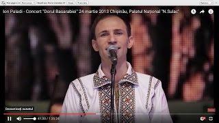 Ion Paladi - Concert