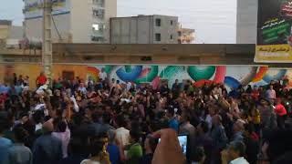 Iran, Borazdjan, le 7 juillet: N'ayez crainte, n'ayez crainte, nous sommes ensembles