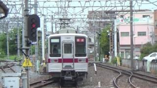 【回送】東武10030系11432F 更新車+11460F春日部通過