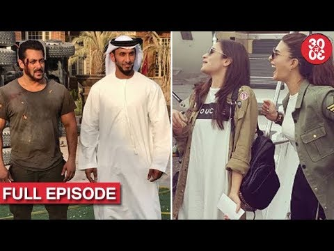 Salman Captured While Shooting An Action Scene | Alia & Jacqueline's Cat-fight Resolved?