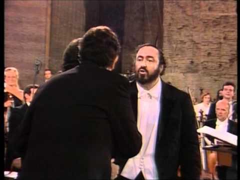 """""""O Sole Mio"""" Pavarotti, Carreras, Domingo - Rome 1990 - DVD quality"""