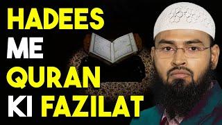 Hadees Me Quran Ki Fazilat By Adv. Faiz Syed