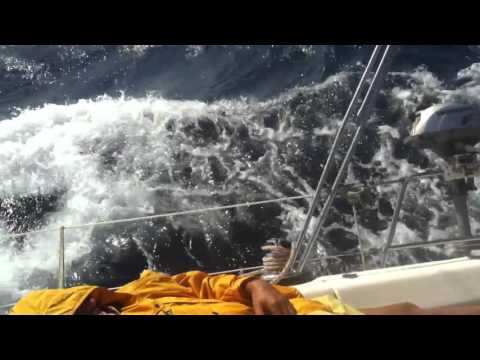 Sailing in Heavy Weather with Bavaria 40