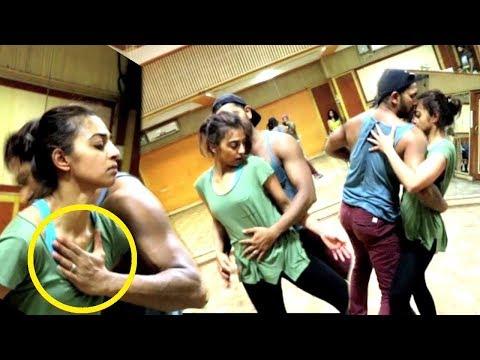 Radhika Apte & Terence Lewis Rehearses For Asha Bhosale's Birthday Performance