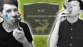 GOODBYE ANNOUNCEMENT MOOSE :(