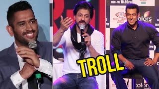 Funniest Trolls Of Bollywood - Salman Khan, Shahrukh Khan, M.S Dhoni – Compilation