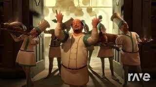 Dinner Scene Where`S The Lamb Sauce? - Shrek 2 & 2Pacalypsepast | RaveDJ