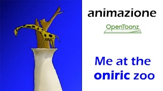 open toonz short film Me at the oniric zoo