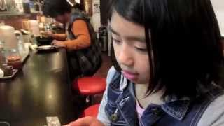 【How to Order RAMEN in JAPAN】10 y/o Japanese girl にほんご lesson
