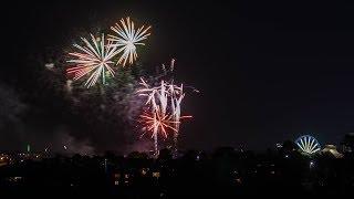 Royal Melb Show Fireworks 2017