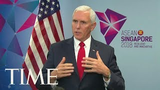 Mike Pence Warns Against Empire Building While Bolton Says Another Kim Summit Is Possible | TIME