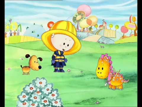 Dessins Animés Dougie se déguise Pompier