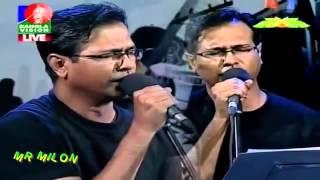 Ekhono Majhe Majhe  By  Asif Akbar Banglavision Live Low