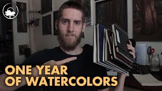 5 Things I Learned From One Year of Watercolor Painting