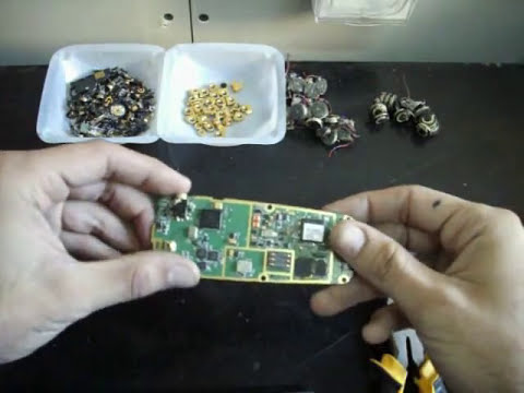 How to Scrap old Cell Phones for Gold Recovery